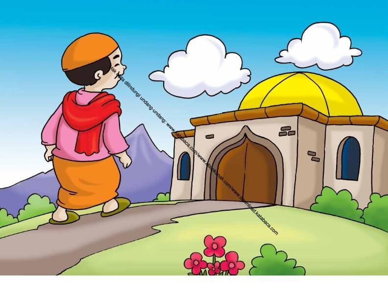 Gambar Animasi Anak Muslim Pergi Sholat Gambar 64 Pergi Shalat Lima Waktu Berjamaah Ke Masjid Ebook Anak Ebook Anak