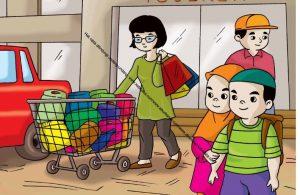 Gambar (68) Belanja Secukupnya Sesuai dengan Kebutuhan