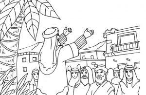 Gambar Mewarnai Asmaul Husna (30) Penyembah Aikah