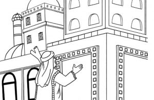 Gambar Mewarnai Asmaul Husna (32) Raja Diraja