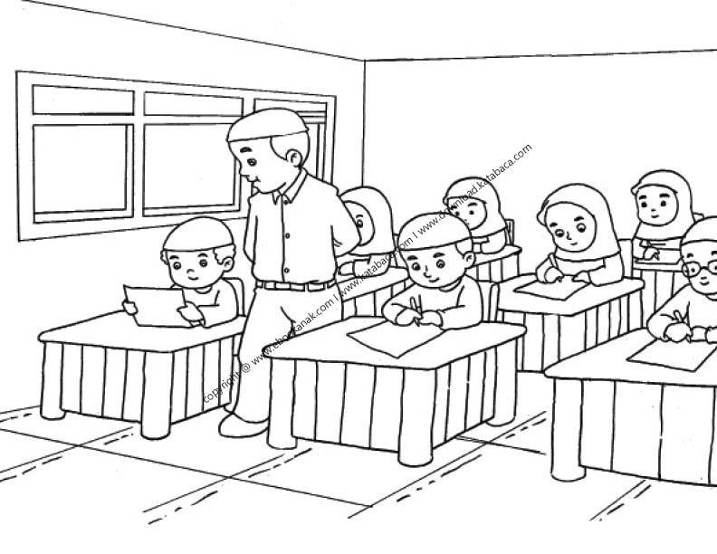 Gambar Siswa Dan Siswi Sedang Belajar Di Kelas 7 Ebook Anak