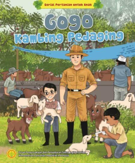 Ebook Seri Komik Pertanian: Gogo Kambing Pedaging