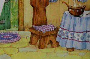 Goldilocks Mencicipi Bubur Ayah Beruang