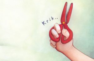 Gunting Mainan Alika