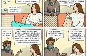 Hindari Penggunaan Masker Scuba dan Buff