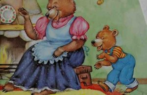 Ibu Beruang dan Anak Beruang Suka Menyanyi