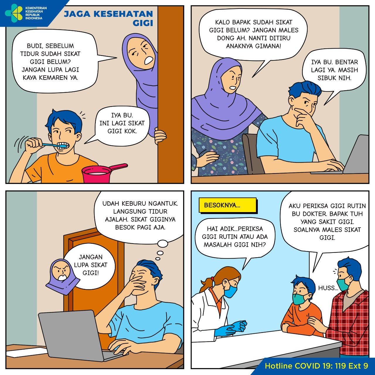 Jaga Kesehatan Gigi