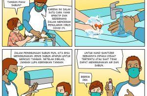 Jangan Kendor! Ayo Cuci Tangan Pakai Sabun