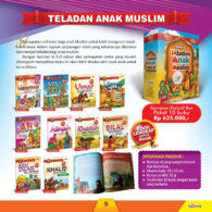 Jual 10 Buku Paket Teladan Anak Muslim