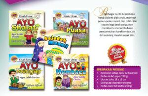 Jual 5 Buku Paket Seri Cerdik Berkata, Cerita Mendidik Berkarakter Taqwa