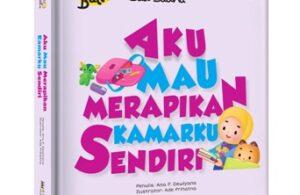 Jual Buku Halo Balita Sali Saliha Aku Mau Merapikan Kamarku Sendiri (Boardbook)