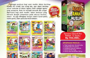 Jual Buku Paket 12 Komik Adab Anak Muslim