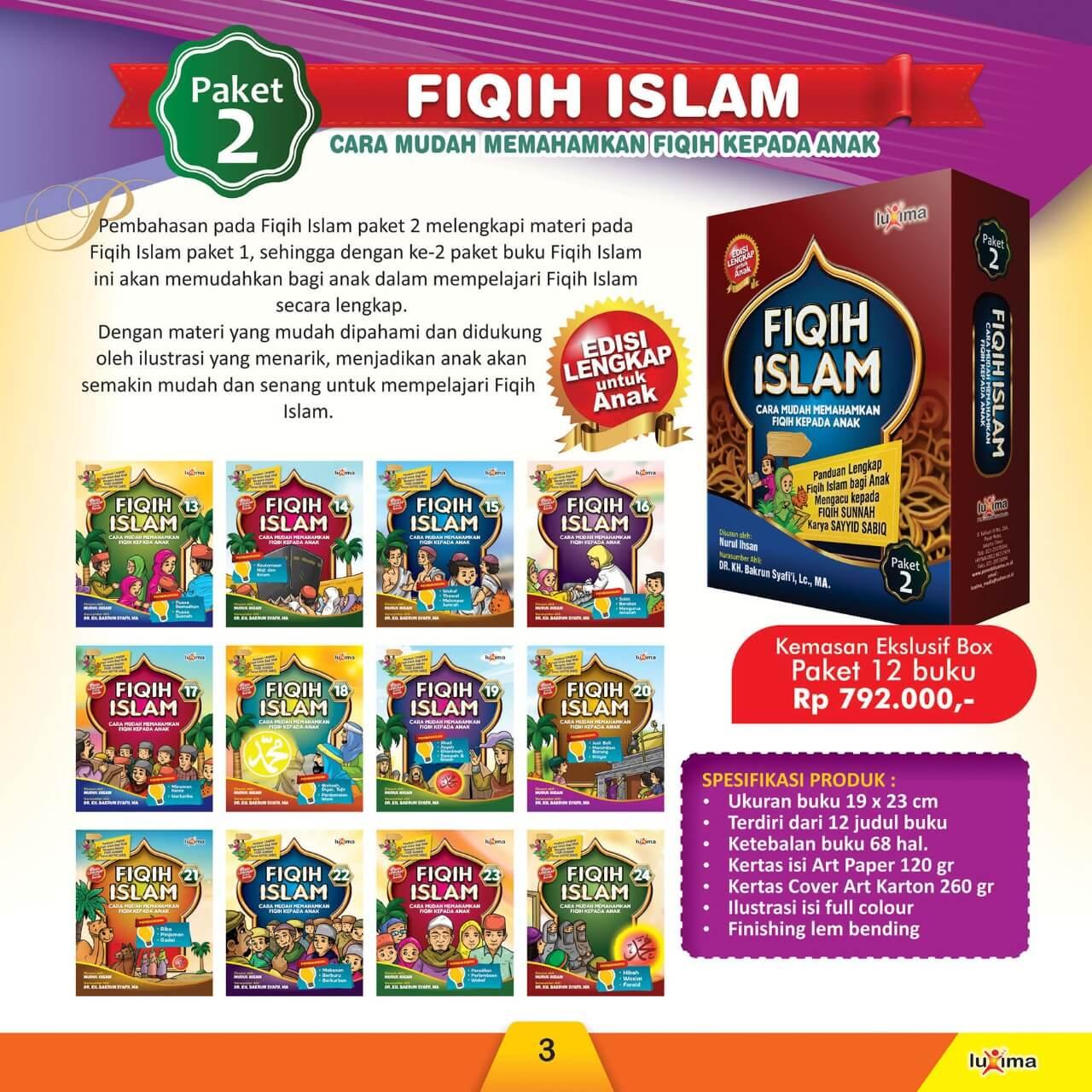 Jual Buku Paket Fiqih Islam Cara Mudah Memahamkan Fiqih kepada Anak 3