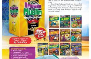 Jual Buku Paket Ilmuwan Muslim yang Dikagumi Dunia (3)