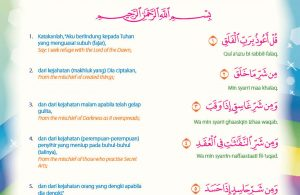 Juz amma for kids, Surah ke-113 Al-Falaq (7)
