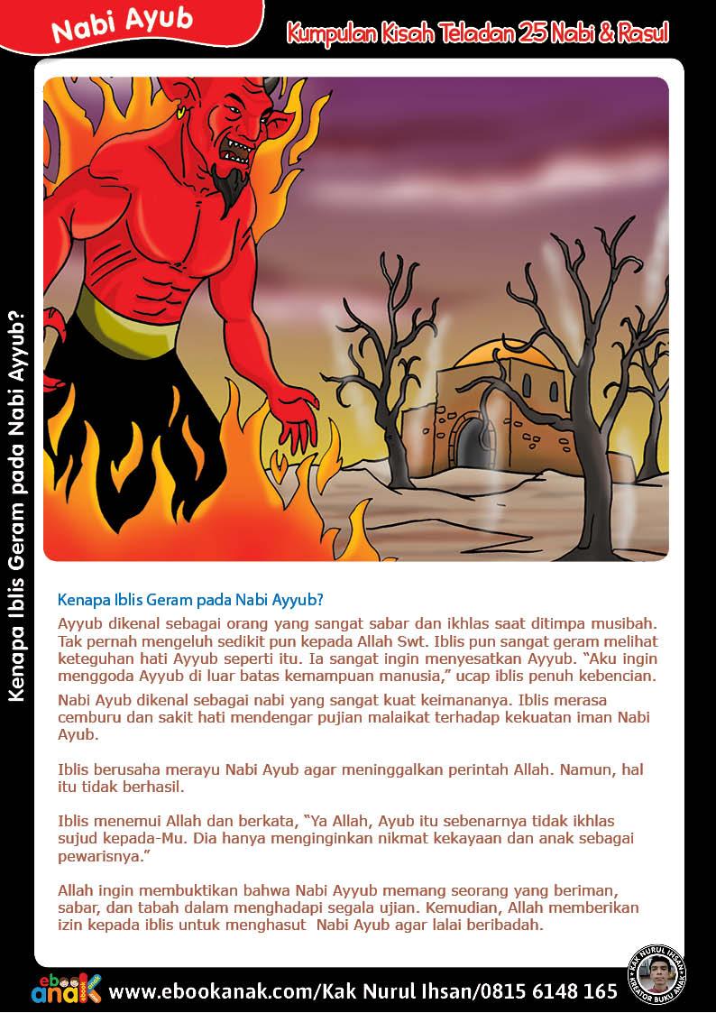 Kenapa Iblis Geram pada Nabi Ayyub