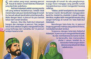 Kisah Rabiatul Adawiyah yang Menyuruh Pencuri Shalat Dua Rakaat (17)