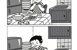 Komik Adab Nabi Muhammad, Berdoa sebelum Makan