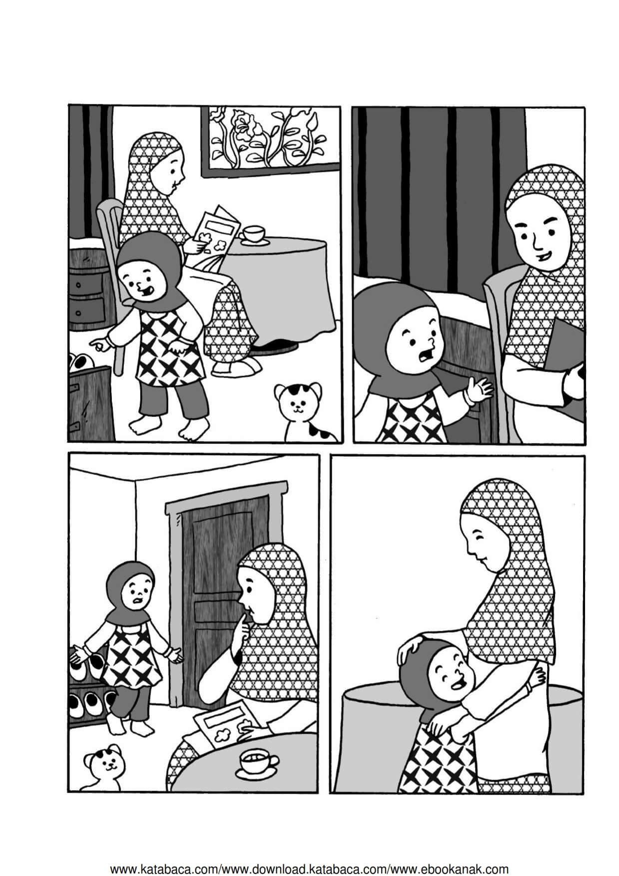 Komik Adab Nabi Muhammad Bertutur Sopan Pada Orangtua Ebook Anak