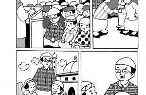 Komik Adab Nabi Muhammad, Kewajiban Shalat Jumat