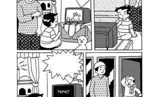 Komik Adab Nabi Muhammad, Shalat Tepat Waktu