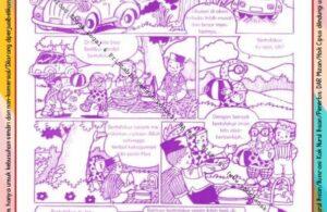 Komik Ibadah Anak Muslim Centil-Centil Cerdas, Liburan (36)