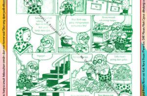 Komik Ibadah Anak Muslim Centil-Centil Cerdas, Membantu Mama (42)