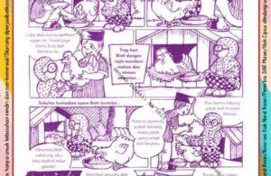 Komik Ibadah Anak Muslim Centil-Centil Cerdas, Memelihara Ayam (24)