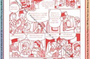 Komik Ibadah Anak Muslim Centil-Centil Cerdas, Naik Pesawat Terbang (41)
