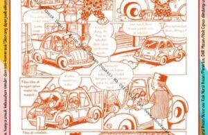 Komik Ibadah Anak Muslim Centil-Centil Cerdas, Nyuci Mobil (22)