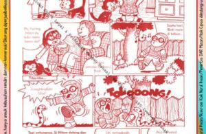 Komik Ibadah Anak Muslim Centil-Centil Cerdas, Si Hitam (40)