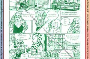Komik Ibadah Anak Muslim Centil-Centil Cerdas, Telepon (21)