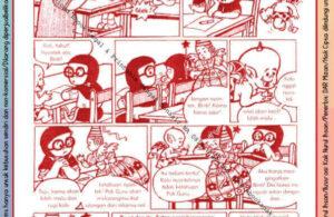 Komik Ibadah Anak Muslim Centil-Centil Cerdas, Ulangan (23)