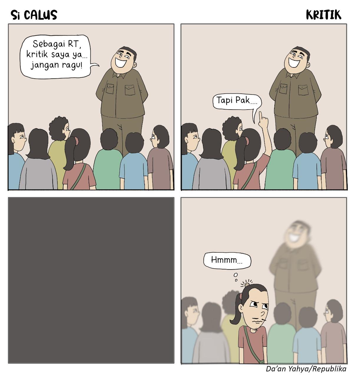 Komik Si Calus Kritik