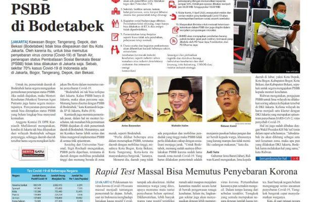 Koran Digital Suara Pembaruan 9 April 2020