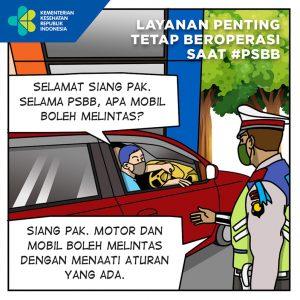 Layanan Penting Tetap Beroperasi Saat PSBB (1)