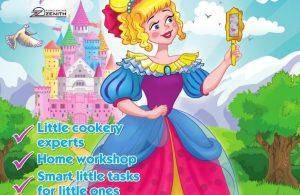 Majalah Anak Digital Magic Kingdom, The Spoiled Princess