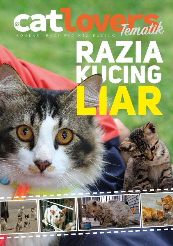 Majalah Digital Catlovers Edisi 14: Razia Kucing Liar