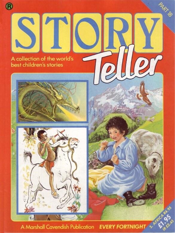 Majalah Cerita Anak Bergambar: Story Teller 2 Part 12 Tahun 1984