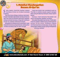 Malaikat Mendengarkan Bacaan Al Quran (1)