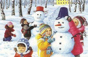 Membuat Manusia Salju