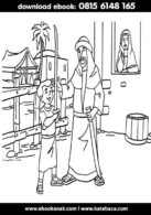 Mewarnai Gambar Khalid bin Walid4