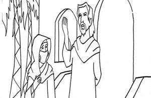 Khadijah binti Khuwailid sedang Menunggu Kedatangan Sang Nabi
