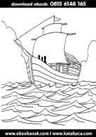 Mewarnai Gambar Sahabat Nabi, Utsman bin Affan (10)