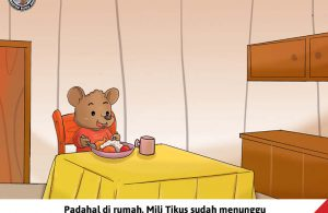 Moli Tikus Lupa Waktu, Mili Tikus Menunggu Makan Siang (10)