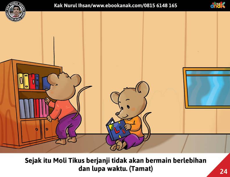 Moli Tikus Lupa Waktu, Moli Berjanji Tidak Akan Main Berlebihan (24)