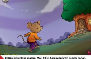 Moli Tikus Lupa Waktu, Moli Tikus Baru Pulang Menjelang Malam (17)