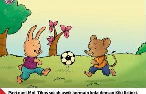 Moli Tikus Lupa Waktu, Moli Tikus Bermain Bola (5)