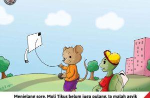Moli Tikus Lupa Waktu, Moli Tikus Bermain Layang-Layang (14)