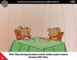 Moli Tikus Lupa Waktu, Moli Tikus Kurang Berselera Makan (19)